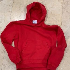 Urban Outfitters Red Pullover Hoodie
